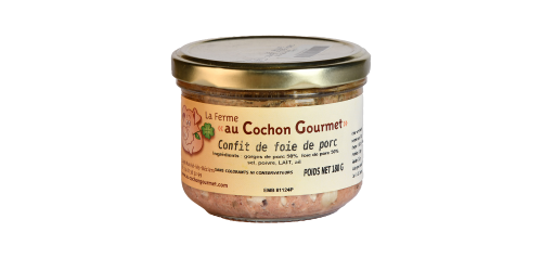 Confit de Foie de Porc - Cochon Gourmet