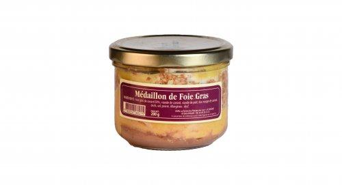Médaillon de foie Gras - Canard des Plateaux du Lac