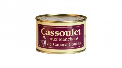 Cassoulet aux Manchons de Canard Confits - Canard des Plateaux du Lac