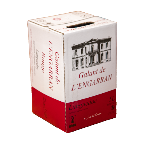 Le Galant, 2018 (Rouge,BIB 5L) - Château de l'Engarran
