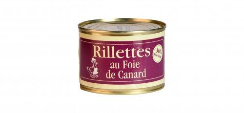 Rillettes au Foie de Canard - Canard des Plateaux du Lac