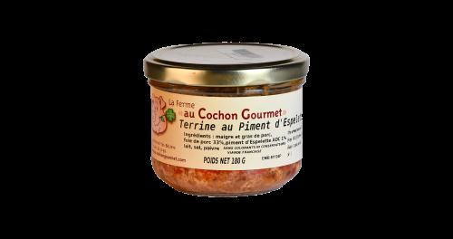 Terrine au Piment d'Espelette - Cochon Gourmet